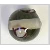 Glass Lamp Bead 10mm Black Diamond